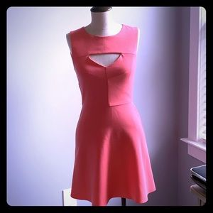 Pink French connection dress